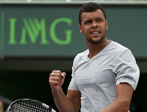Tsonga métamorphosé à Roland-Garros